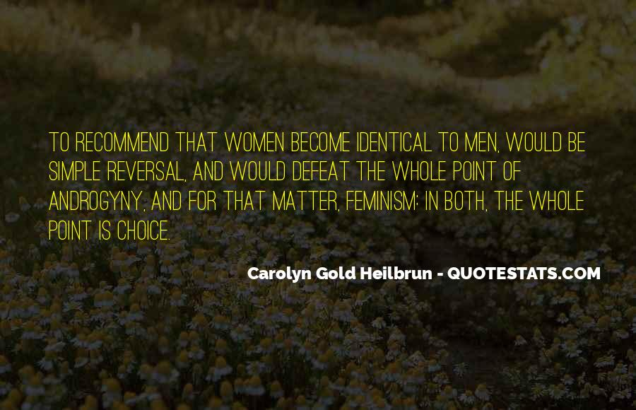 Carolyn Gold Heilbrun Quotes #882421