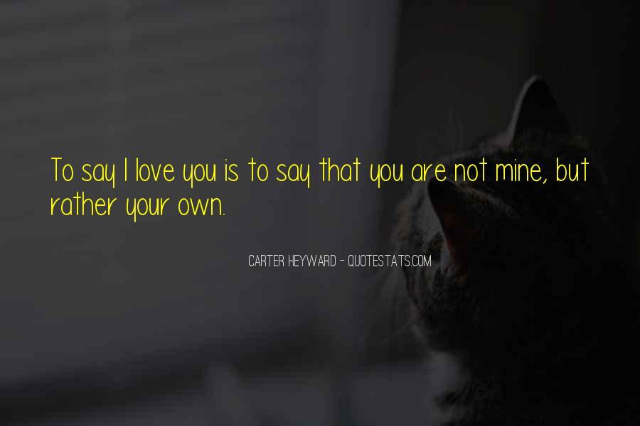 Carter Heyward Quotes #1496100