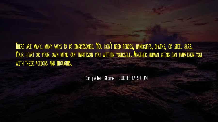 Cary Allen Stone Quotes #182323