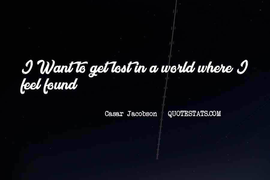 Casar Jacobson Quotes #215068