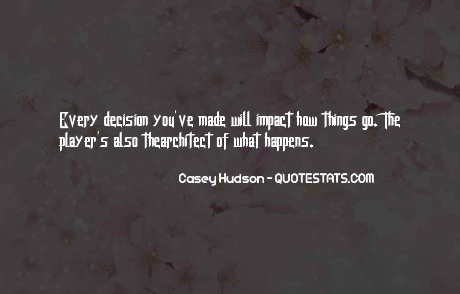 Casey Hudson Quotes #871436