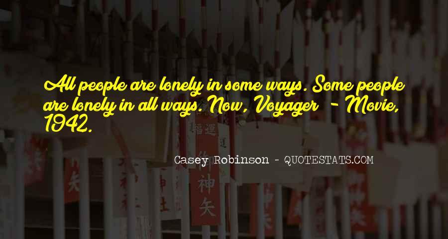 Casey Robinson Quotes #18297