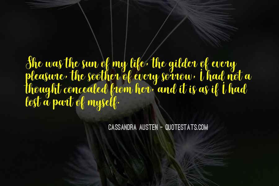 Cassandra Austen Quotes #1144471