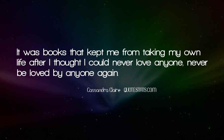 Cassandra Claire Quotes #799393