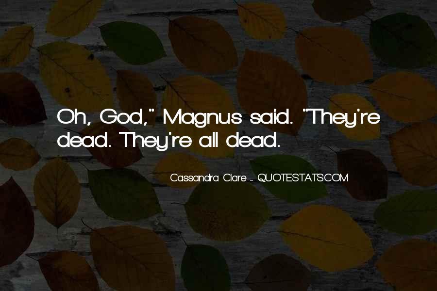 Cassandra Clare Quotes #1016970