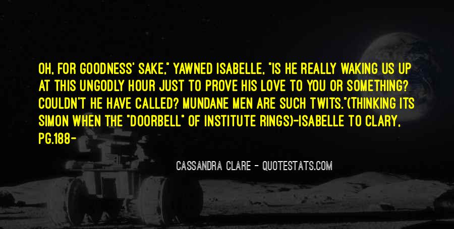 Cassandra Clare Quotes #1021537