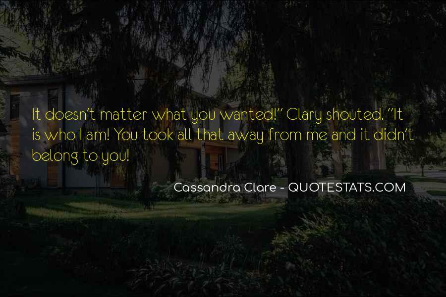 Cassandra Clare Quotes #1205533