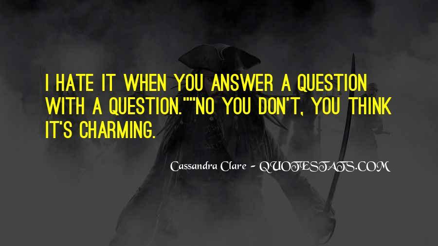 Cassandra Clare Quotes #1329319