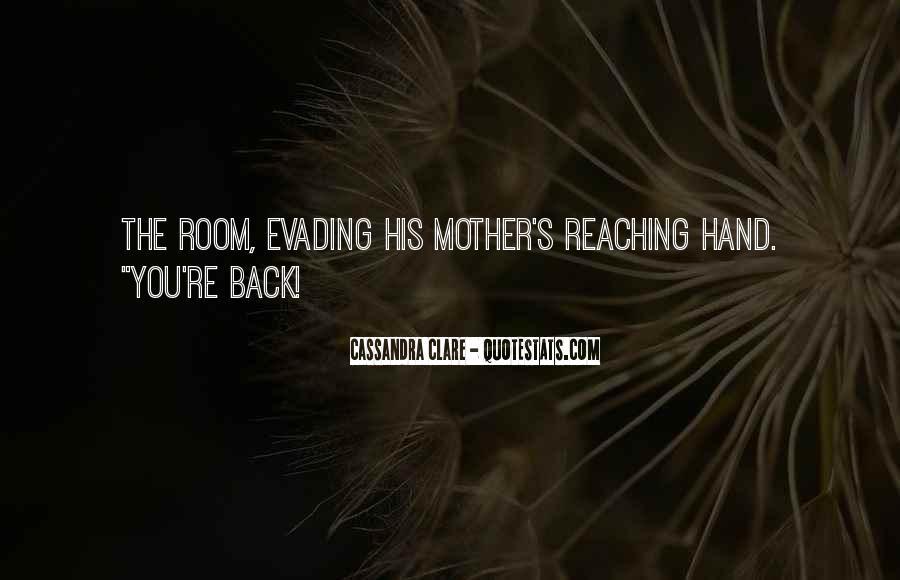Cassandra Clare Quotes #133782