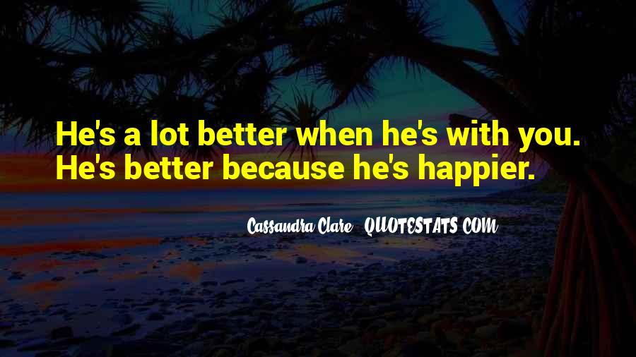 Cassandra Clare Quotes #1603753