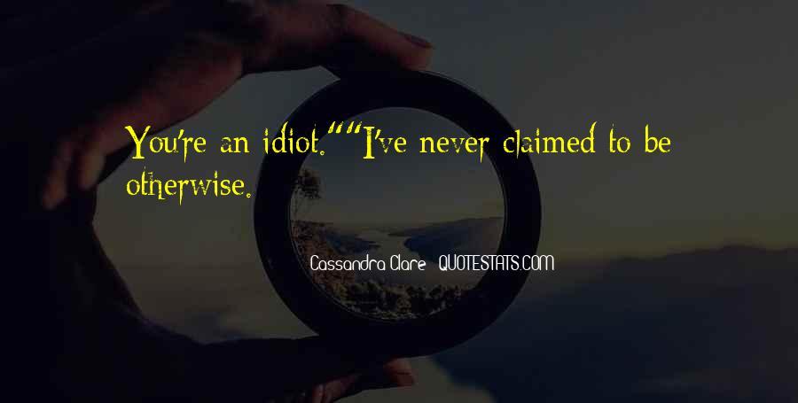 Cassandra Clare Quotes #1837649