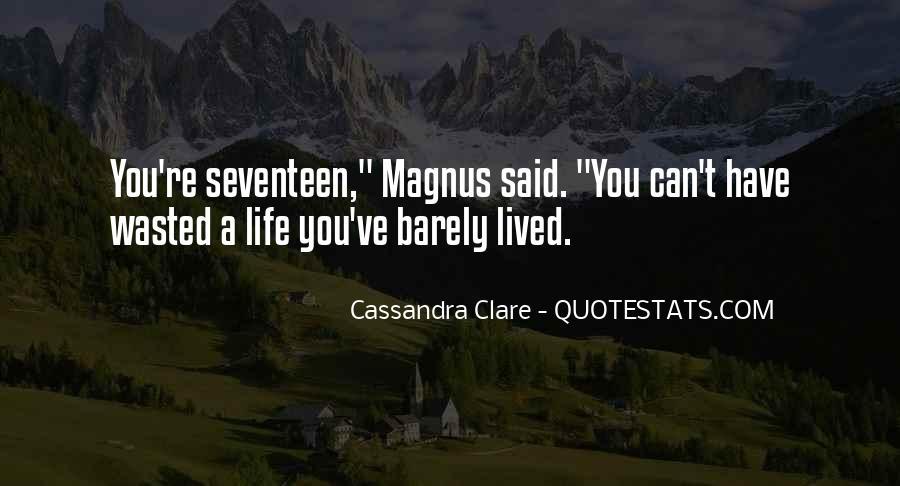 Cassandra Clare Quotes #1860956