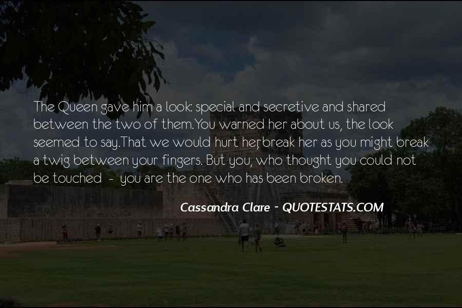 Cassandra Clare Quotes #187756