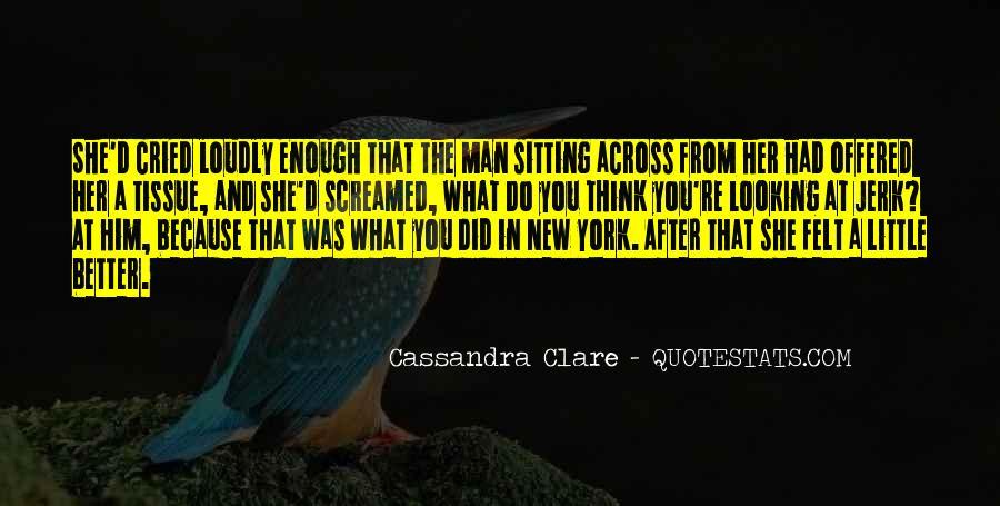 Cassandra Clare Quotes #291941