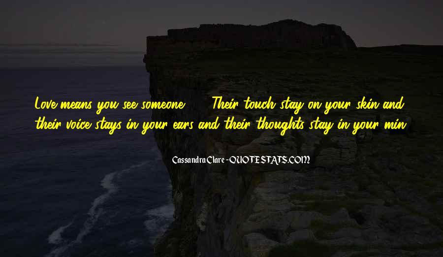 Cassandra Clare Quotes #341201