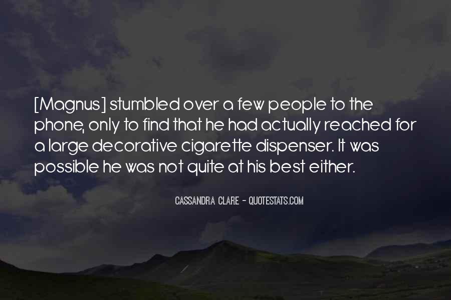Cassandra Clare Quotes #366854