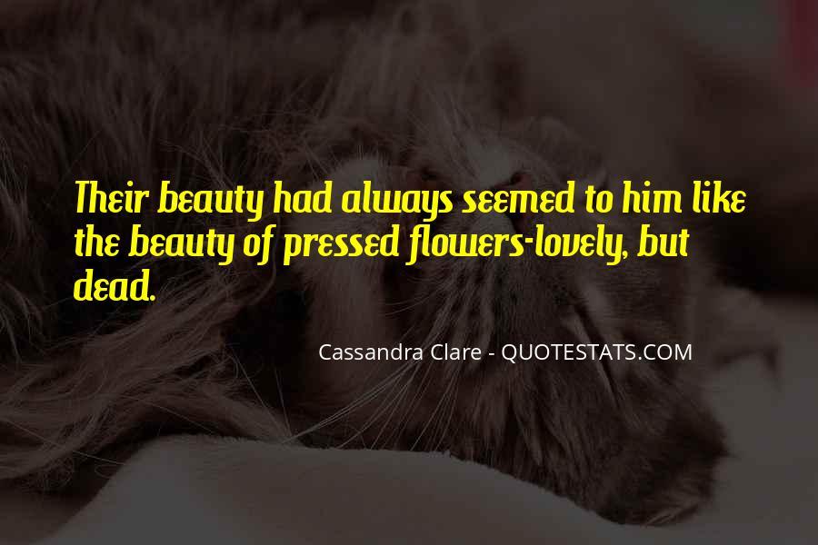 Cassandra Clare Quotes #406391