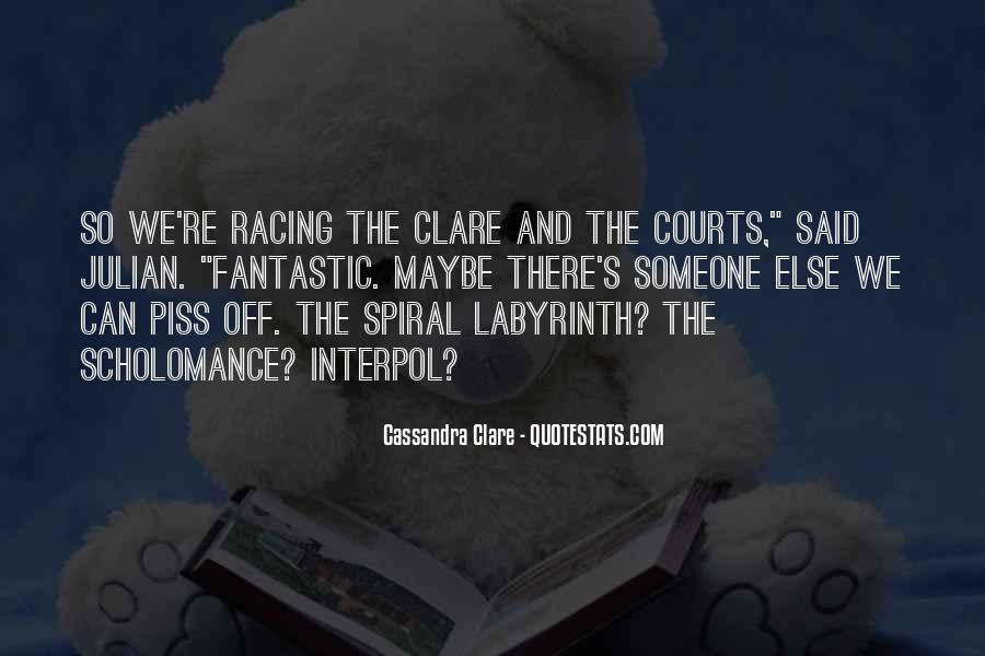 Cassandra Clare Quotes #444012
