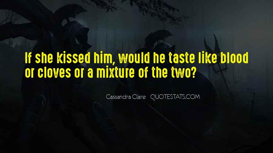 Cassandra Clare Quotes #607467