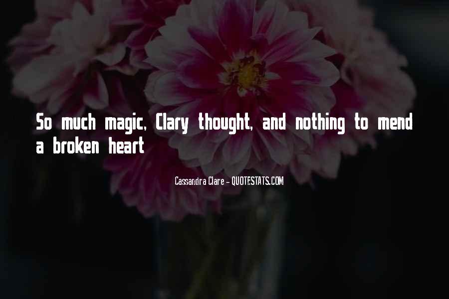 Cassandra Clare Quotes #738116