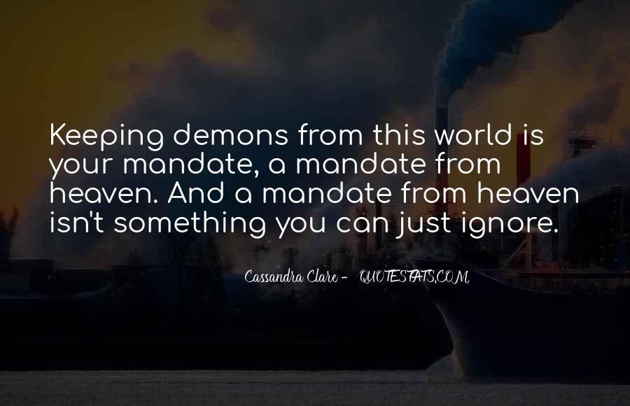 Cassandra Clare Quotes #739992