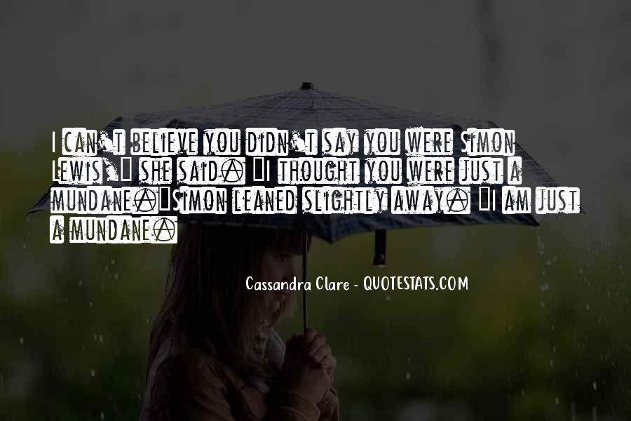 Cassandra Clare Quotes #78180