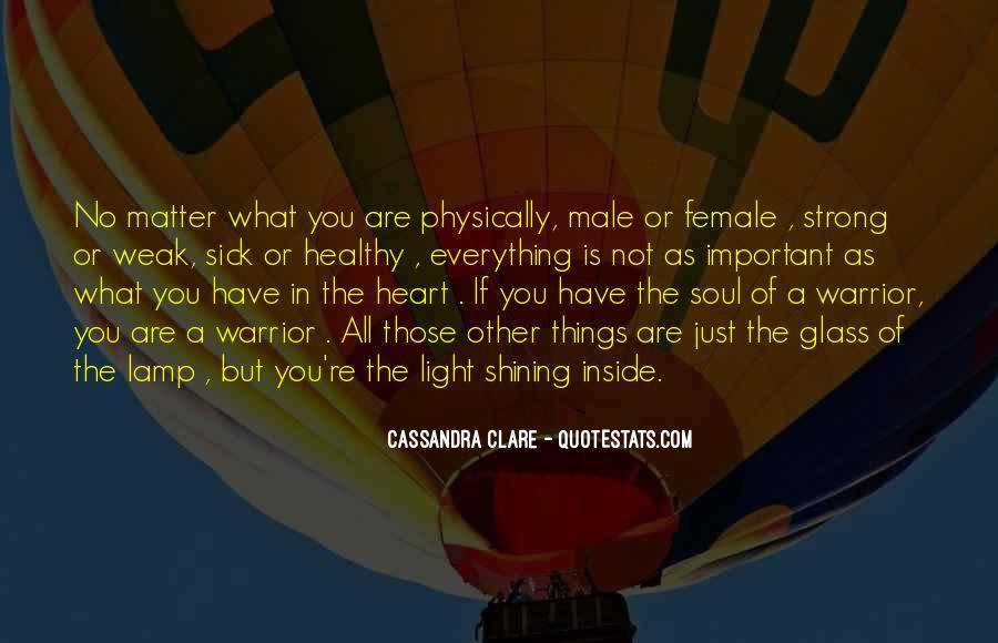 Cassandra Clare Quotes #792575