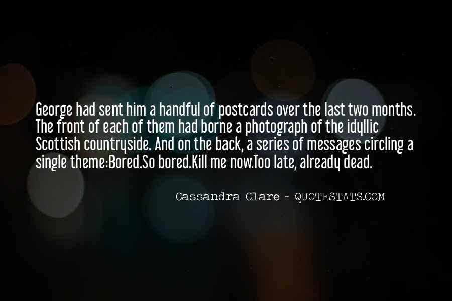 Cassandra Clare Quotes #829346