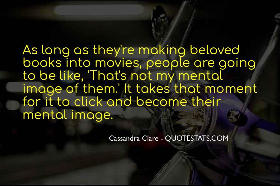 Cassandra Clare Quotes #857739