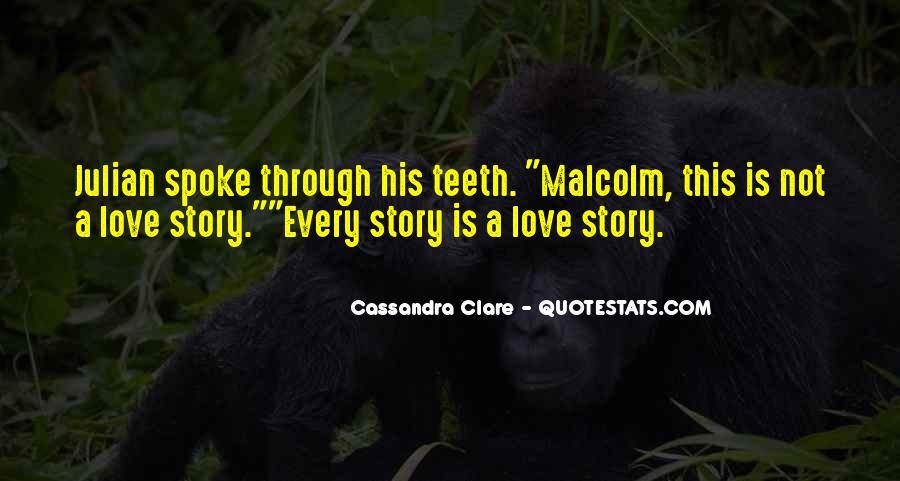 Cassandra Clare Quotes #879725