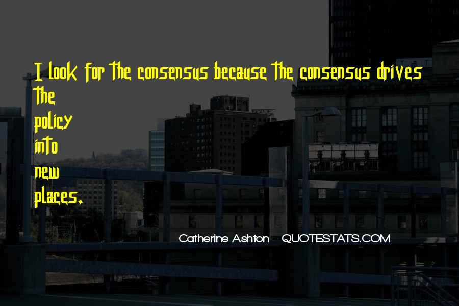 Catherine Ashton Quotes #143515