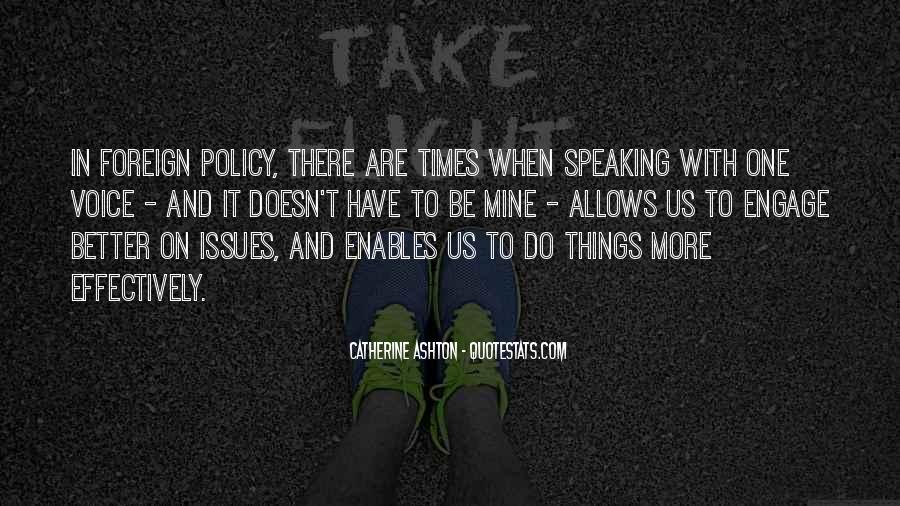 Catherine Ashton Quotes #1798920