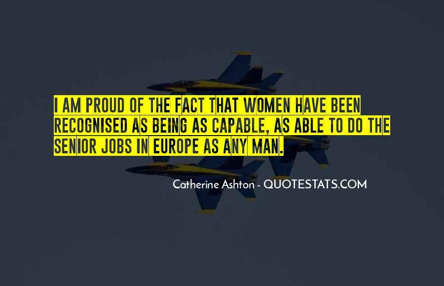 Catherine Ashton Quotes #907715