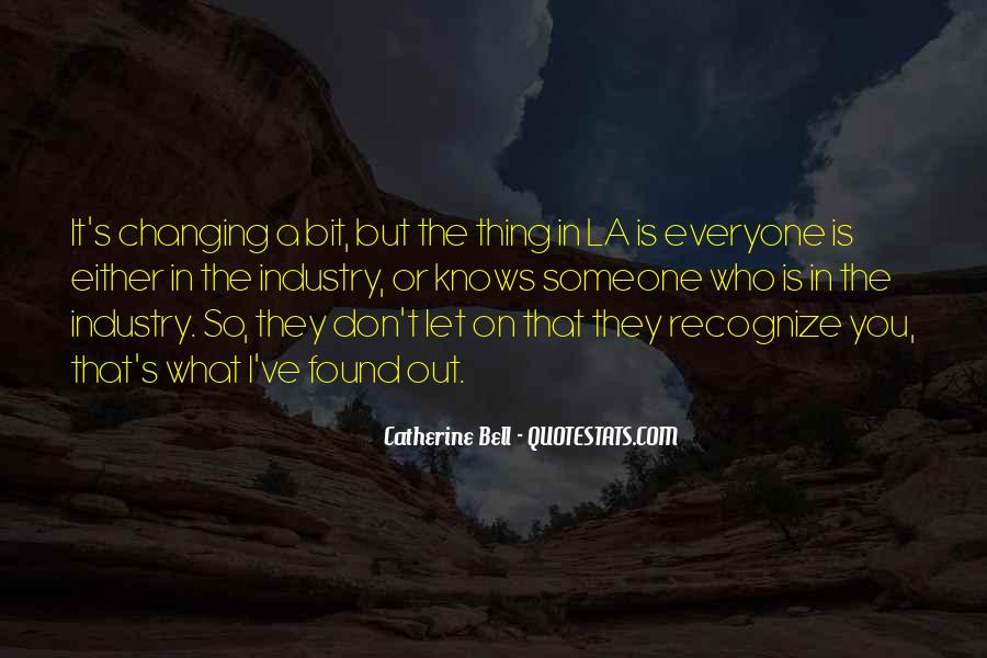 Catherine Bell Quotes #1113164