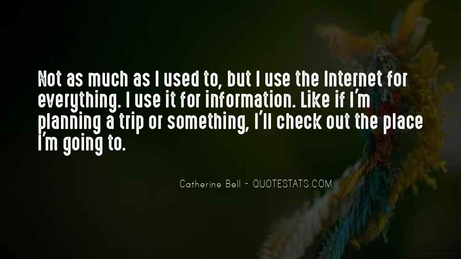Catherine Bell Quotes #460765
