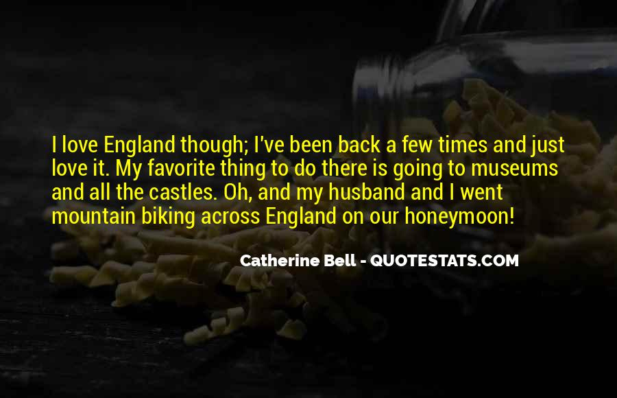 Catherine Bell Quotes #830078