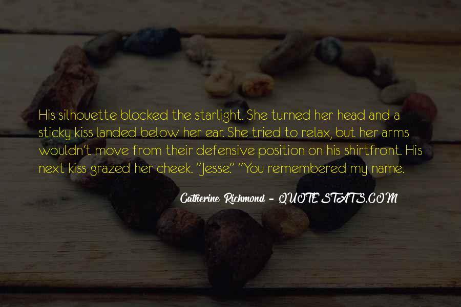 Catherine Richmond Quotes #475476