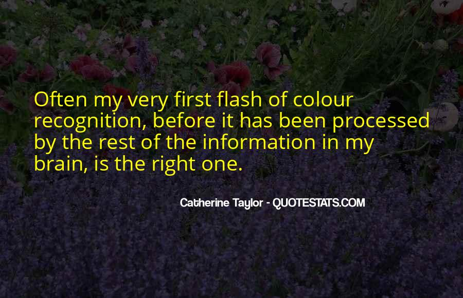 Catherine Taylor Quotes #1504064