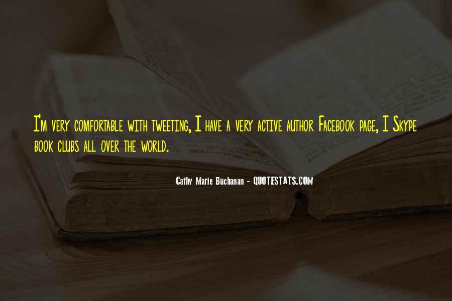 Cathy Marie Buchanan Quotes #291996