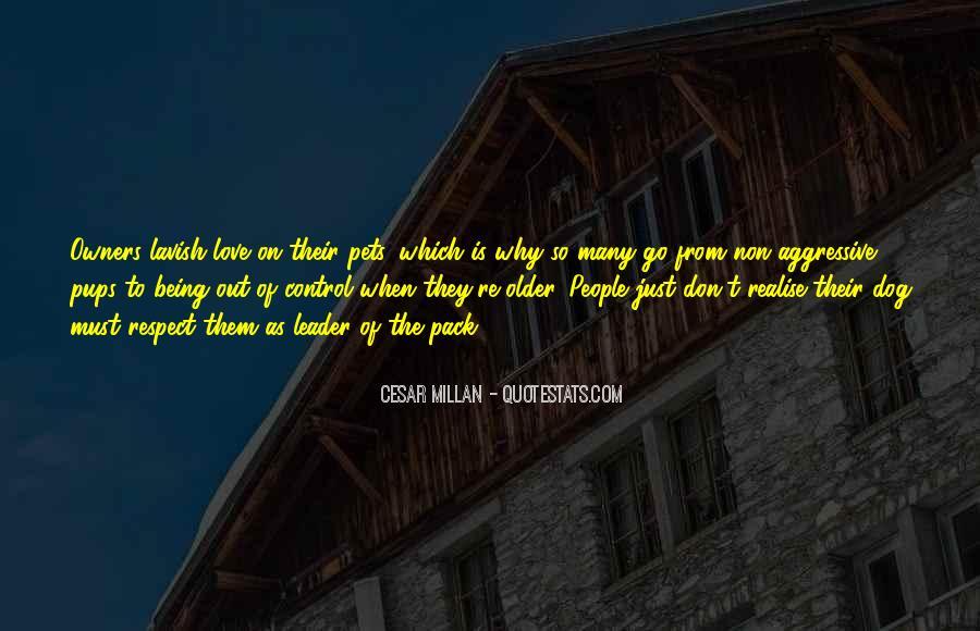 Cesar Millan Quotes #1033792