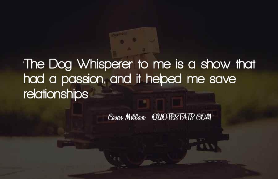 Cesar Millan Quotes #745859