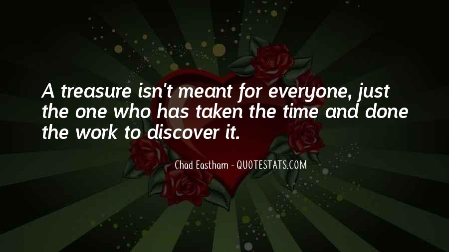 Chad Eastham Quotes #869431