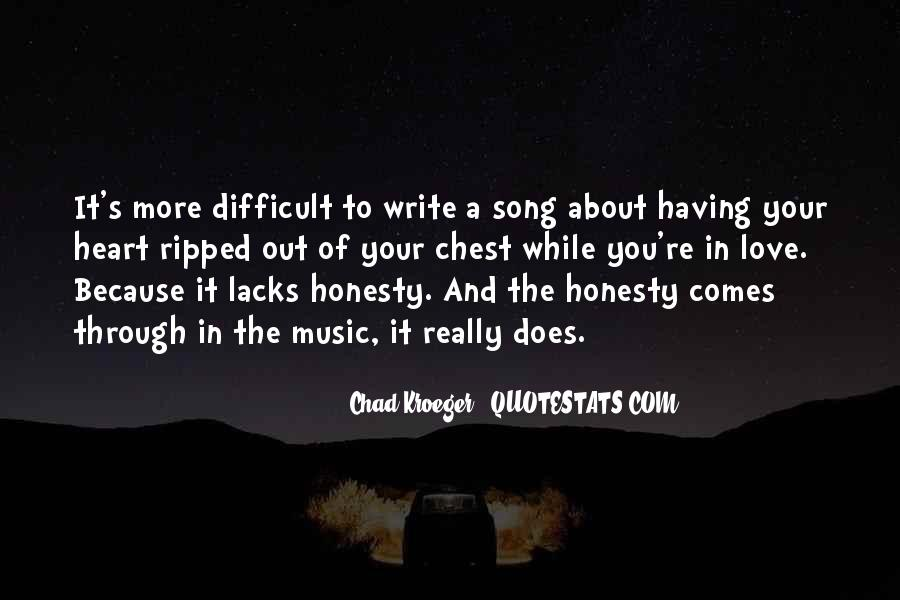 Chad Kroeger Quotes #826434
