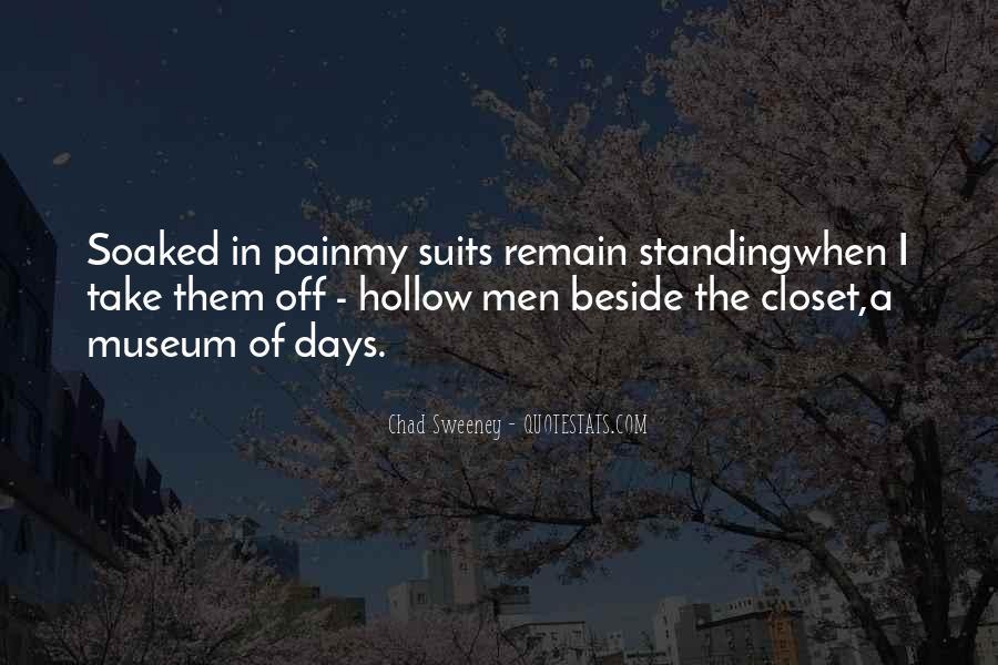 Chad Sweeney Quotes #1060998