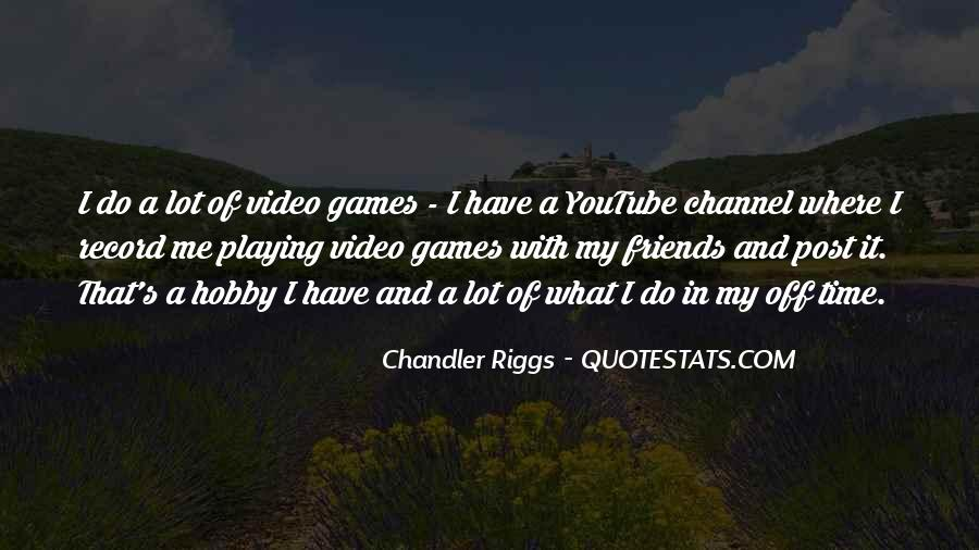 Chandler Riggs Quotes #445751