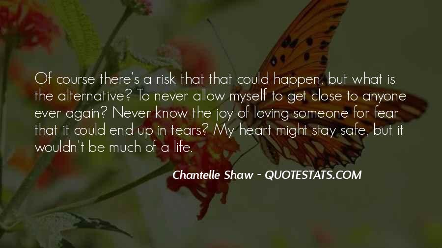 Chantelle Shaw Quotes #465101