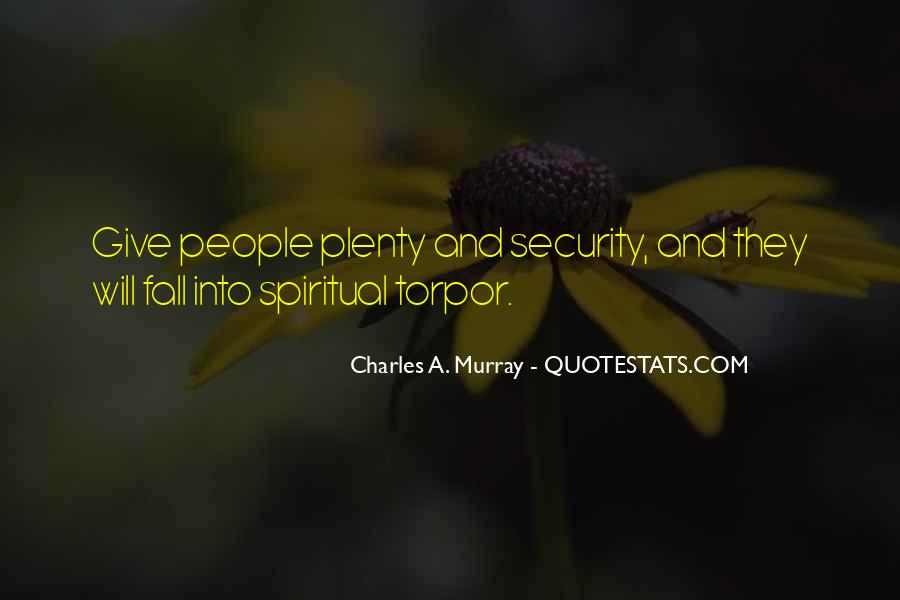Charles A. Murray Quotes #1093136