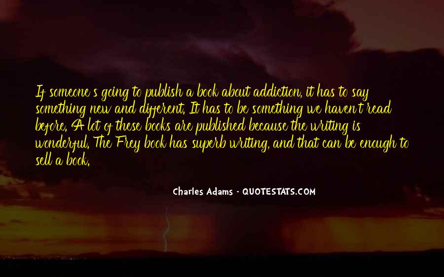Charles Adams Quotes #746400