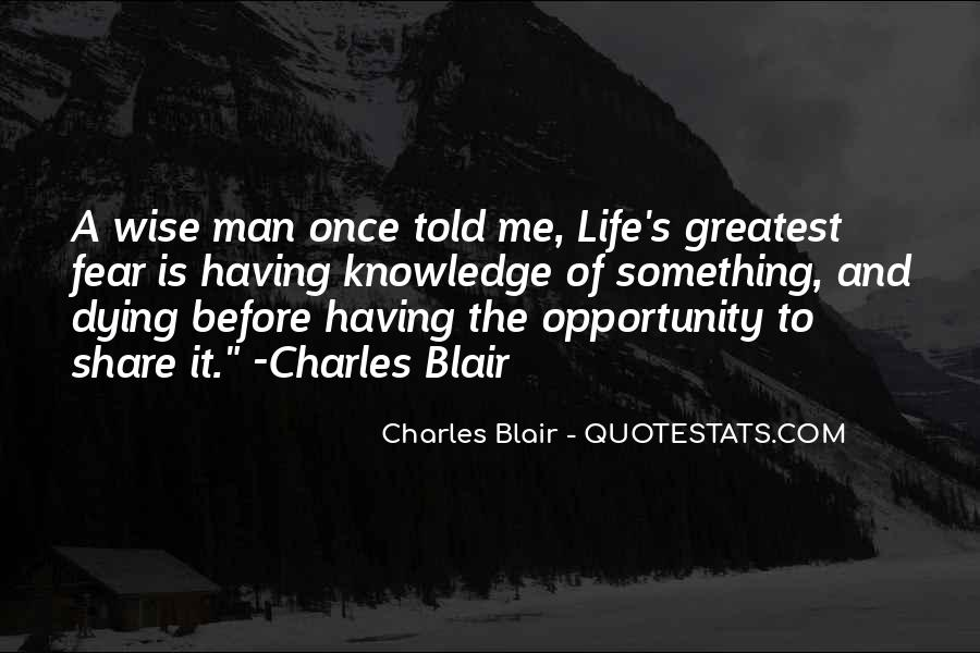 Charles Blair Quotes #327510