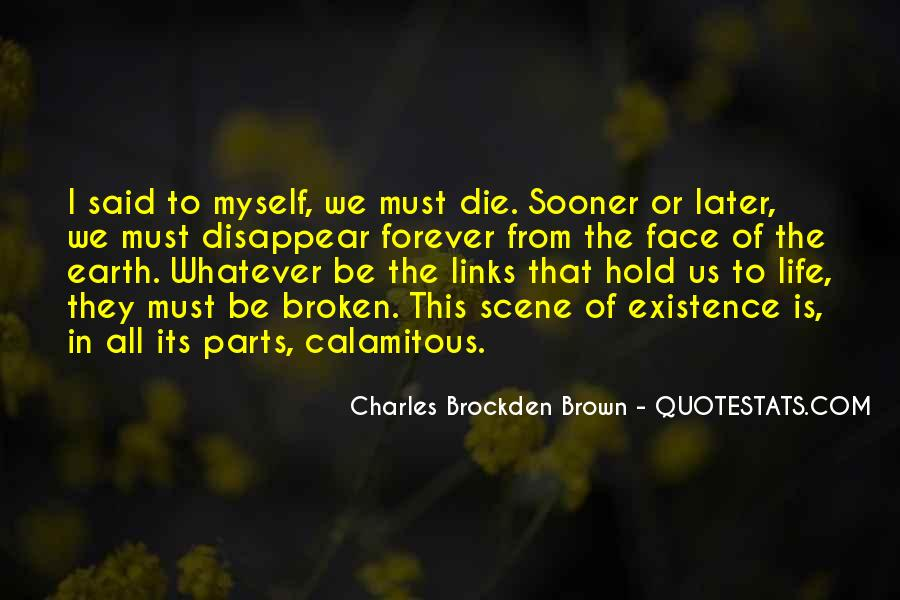 Charles Brockden Brown Quotes #1116701